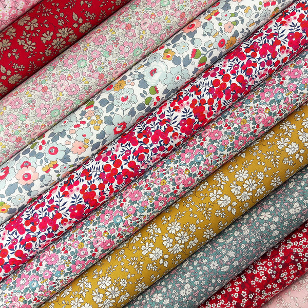 Liberty Fabric Pack ~ Carmine