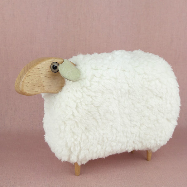 Luxe Lamb Fleece Cuddle Ivory