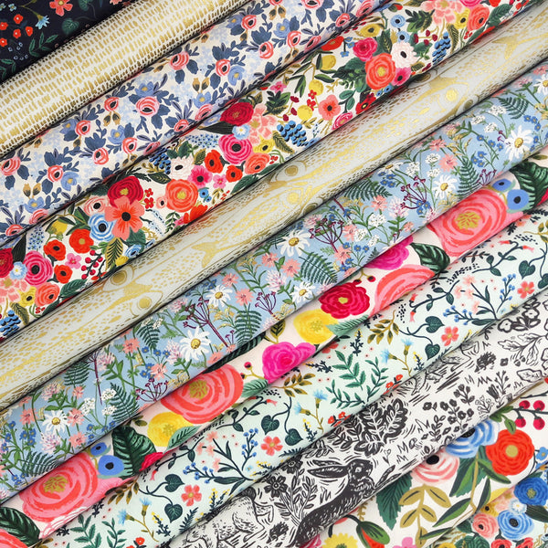 Cotton and Steel Fabric Pack ~ SCRAPS