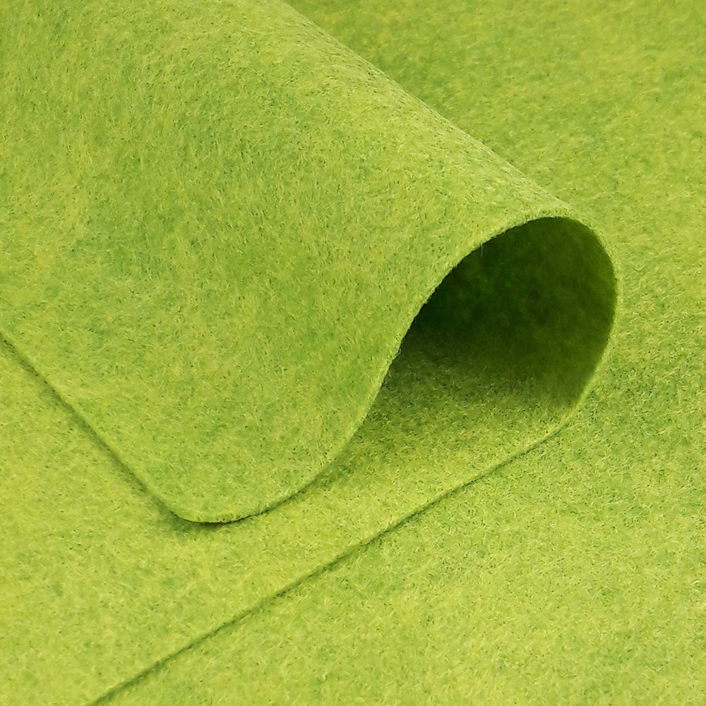 Wool Felt ~Lime Leaf