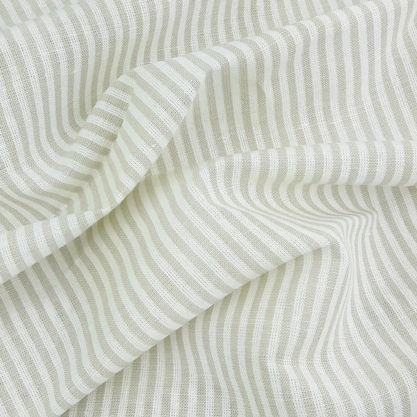 Linen Stripe ~ Cream *Remnant*