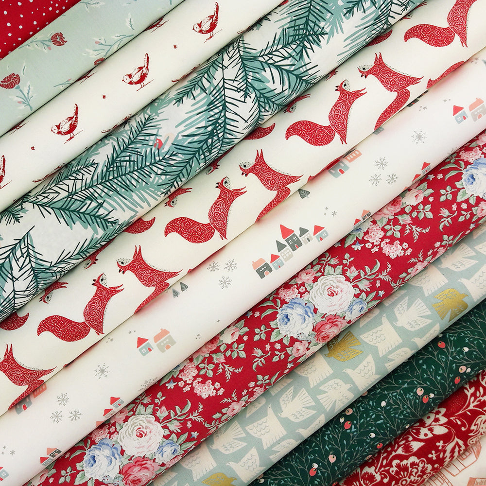 Winter Wonderland Fabric Pack ~ SCRAPS