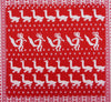 Fox Parade Hankie ~ Red - Billow Fabrics  - 2