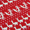 Fox Parade Hankie ~ Red - Billow Fabrics  - 1