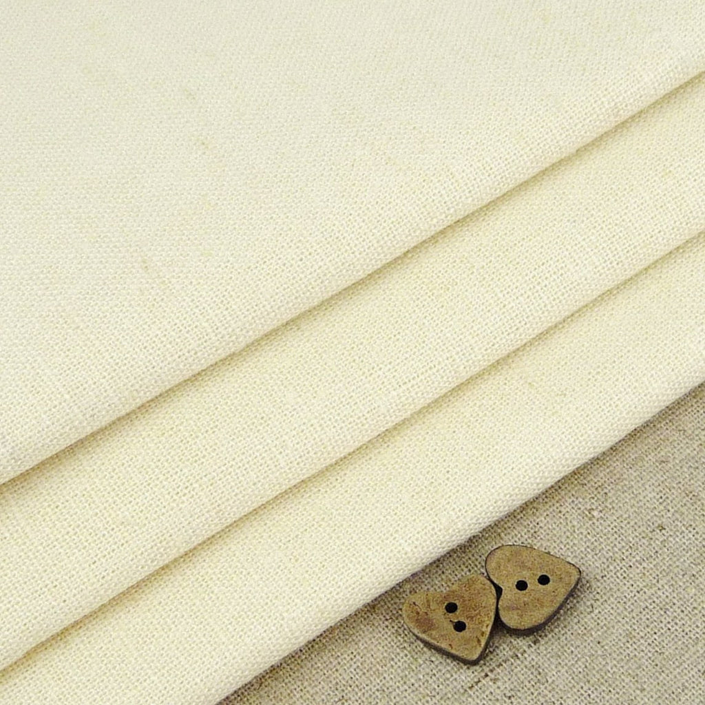 Robert Kaufman ~ Essex Ivory - Billow Fabrics