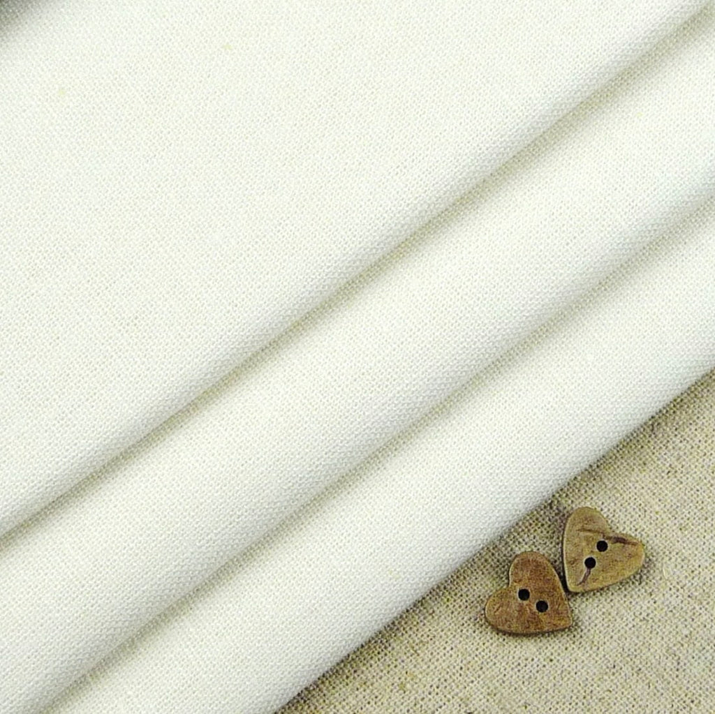 Robert Kaufman ~ Essex Linen White - Billow Fabrics