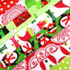 Christmas Tree Fabric Pack ~ SCRAPS
