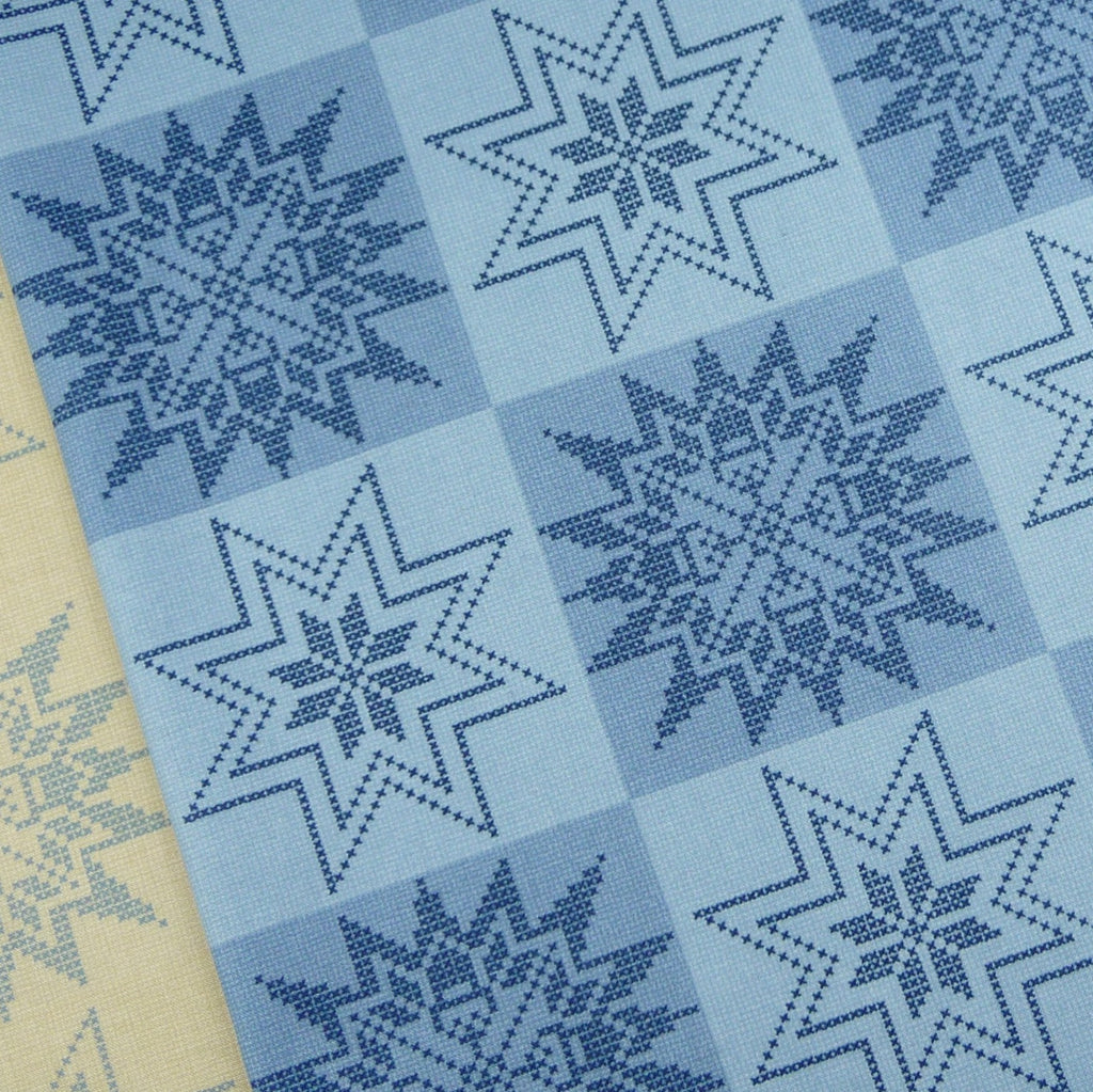 Moda ~ Acorn Star Autumn Blue - Billow Fabrics  - 1