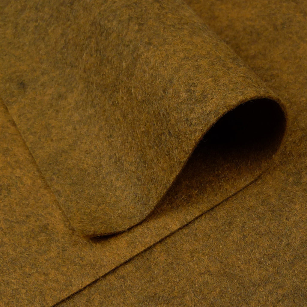 Woolfelt ~ Golden Brown - Billow Fabrics