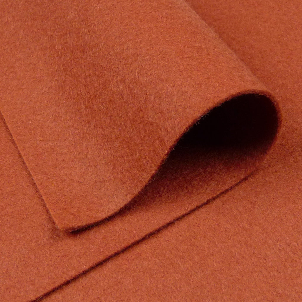 Woolfelt ~ Chestnut Brown - Billow Fabrics