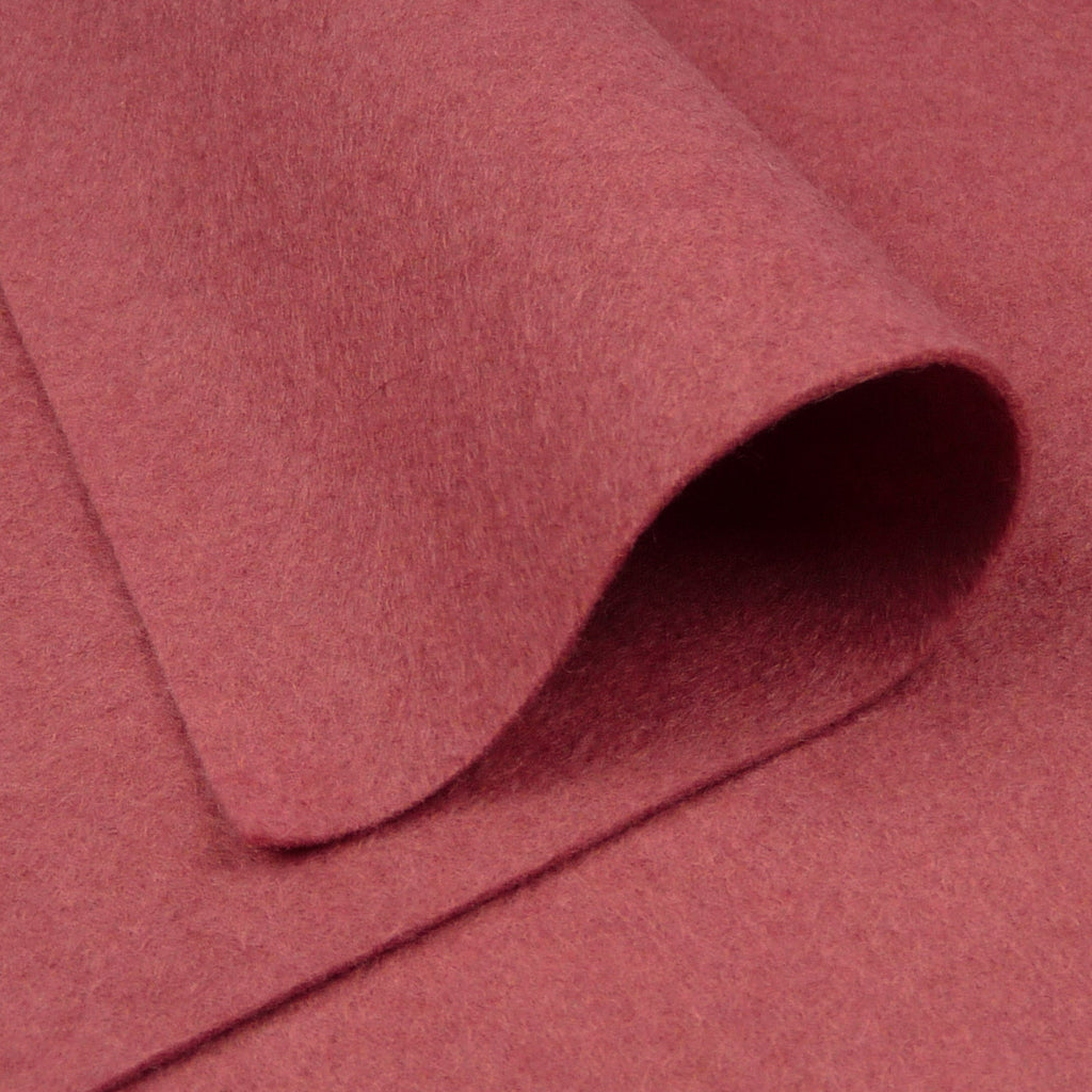 Woolfelt ~ Dusky Rose - Billow Fabrics