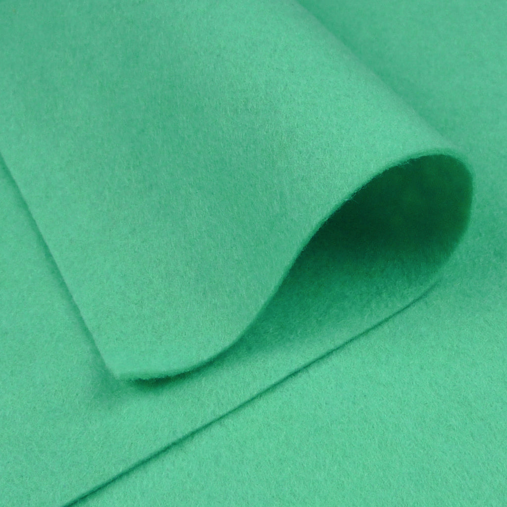 Woolfelt ~ Mint Leaf - Billow Fabrics
