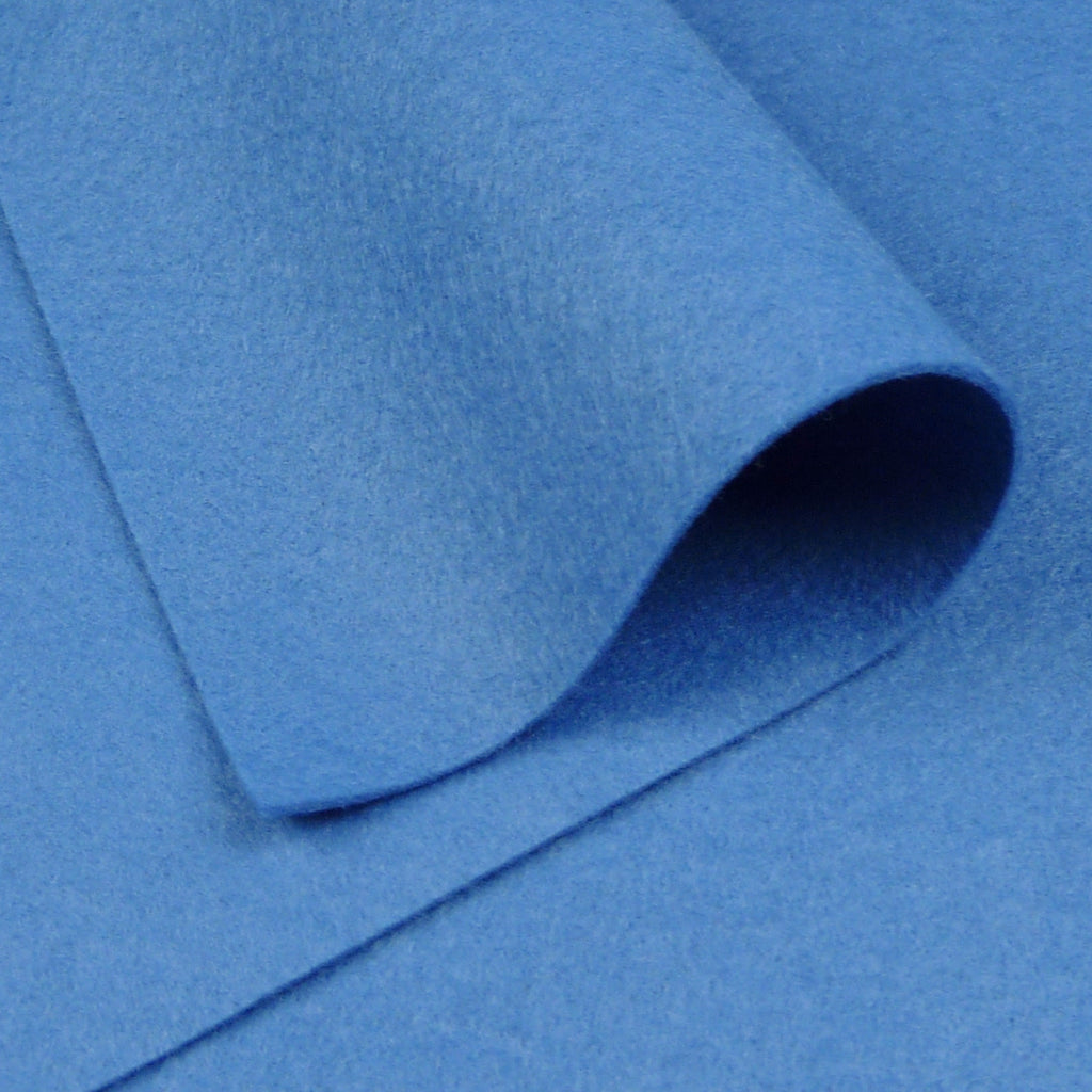 Woolfelt ~ Norwegian Blue - Billow Fabrics