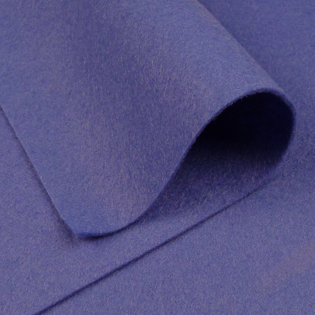 Woolfelt ~ Iris Blue - Billow Fabrics