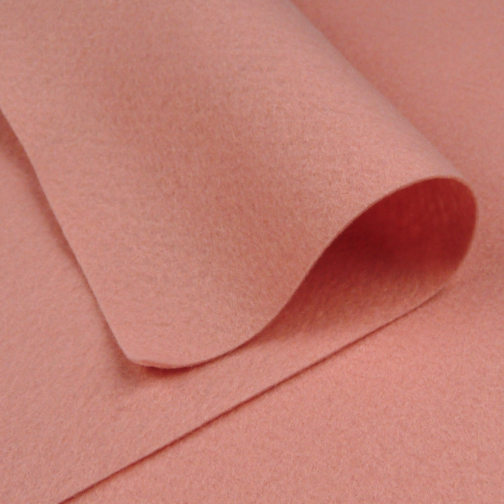 Woolfelt ~ Antique Pink - Billow Fabrics