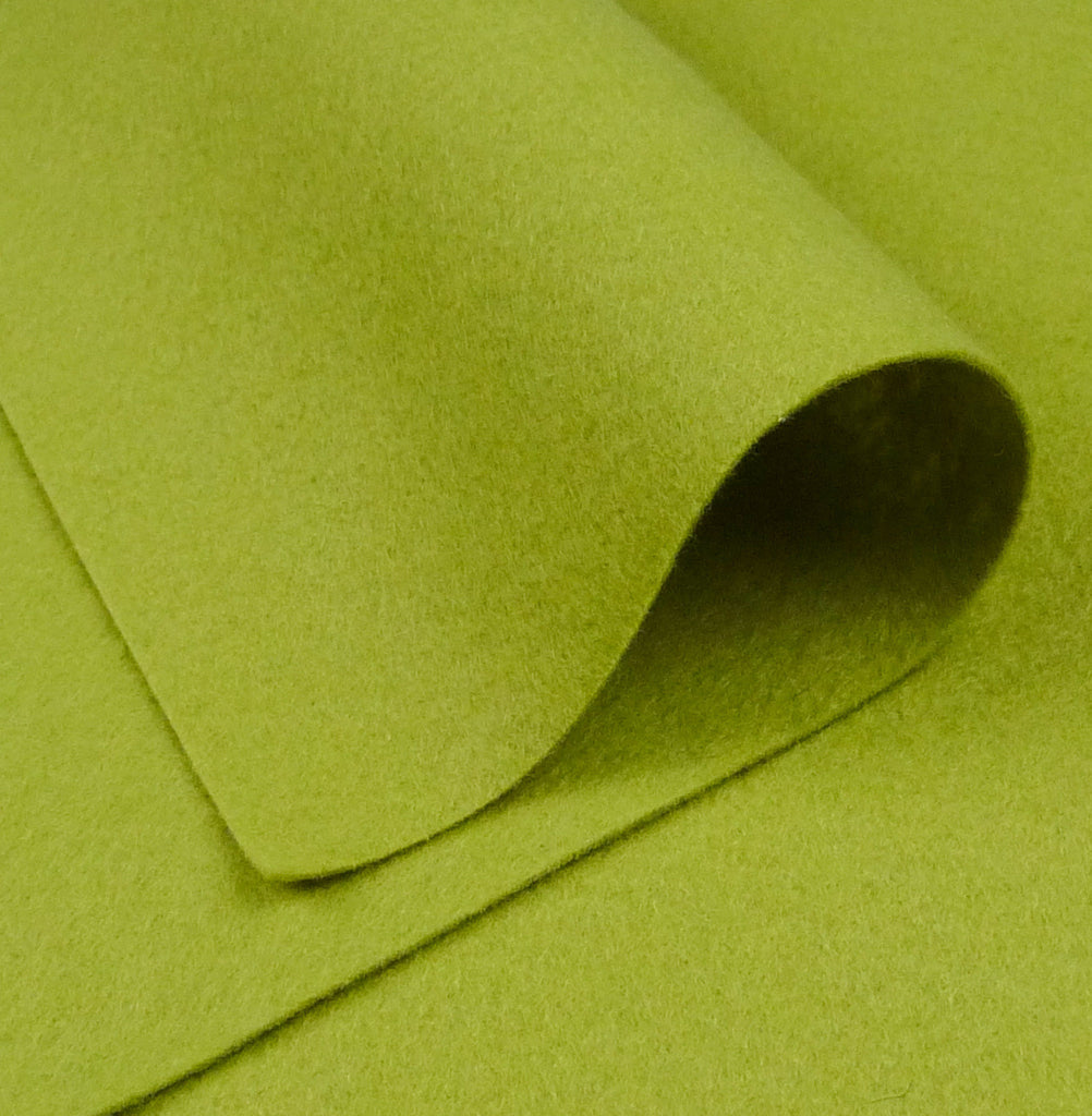 Woolfelt ~ Apple Green - Billow Fabrics