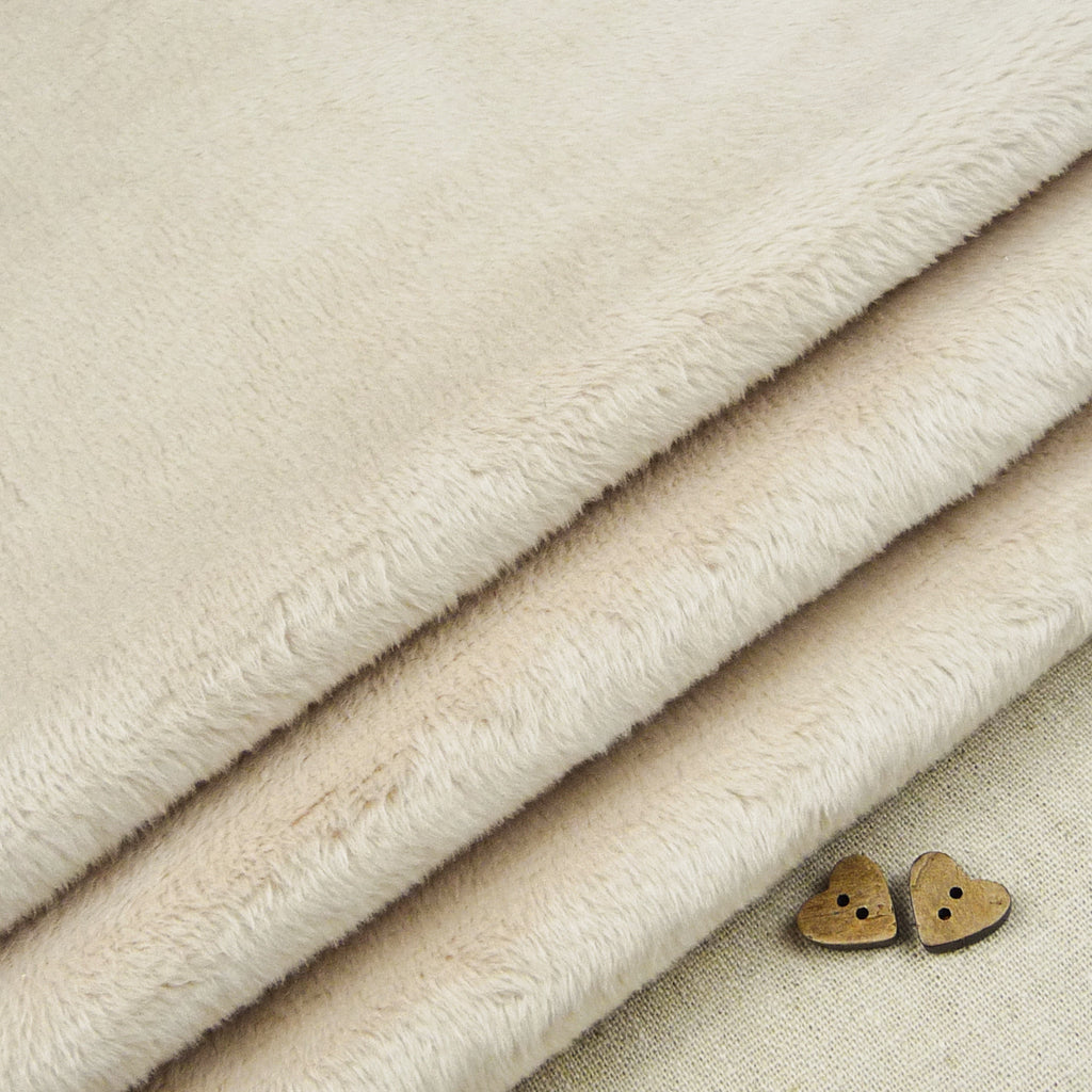 Shannon ~ Smooth Cuddle 3 Latte *Remnant* - Billow Fabrics