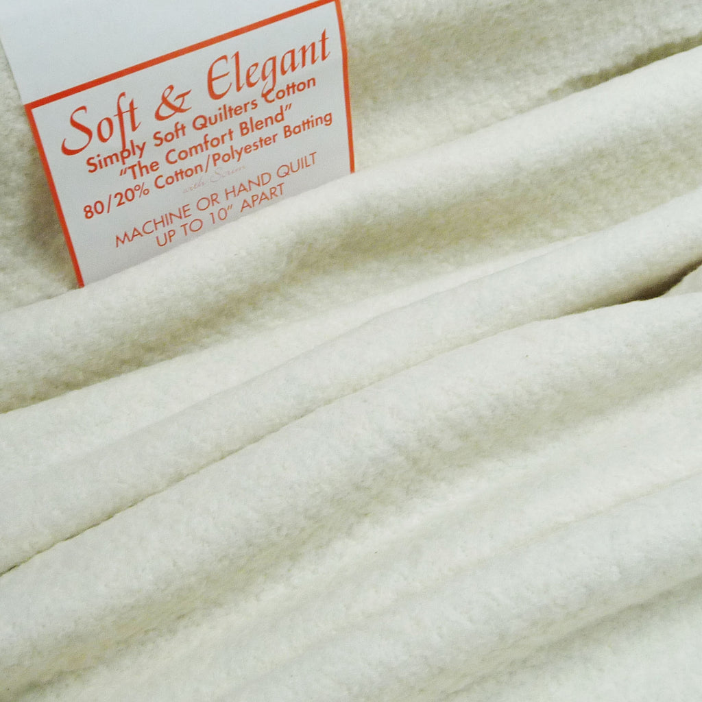 Cotton 80% / Poly 20% Wadding *Remnant* - Billow Fabrics  - 1