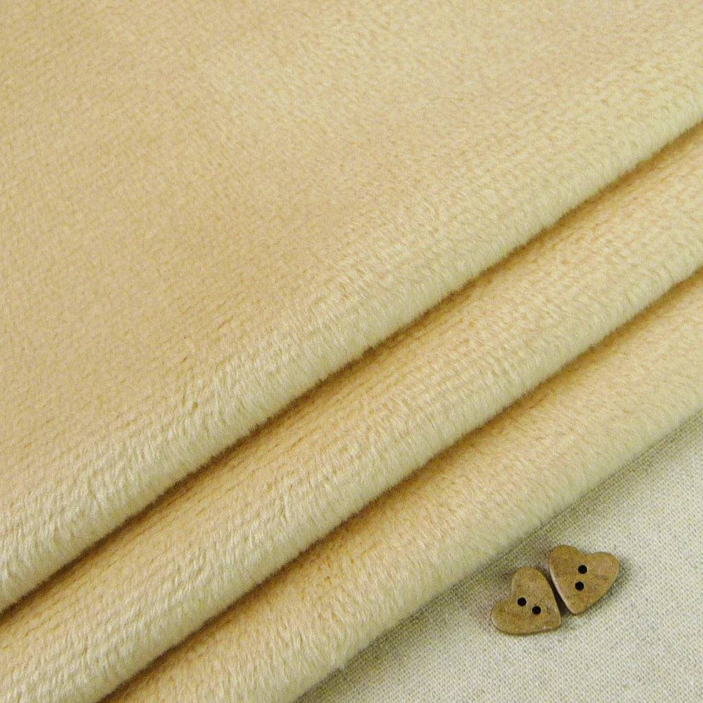 Shannon ~ Smooth Cuddle 3 Camel *Remnant* - Billow Fabrics  - 1
