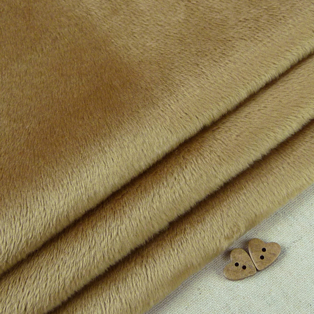 Shannon ~ Smooth Cuddle 3 Cappuccino *Remnant* - Billow Fabrics  - 1