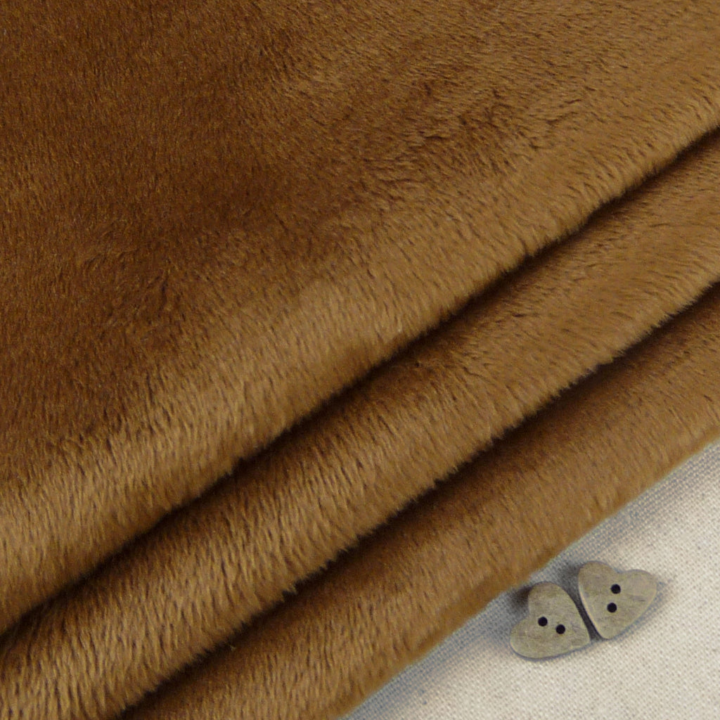 Shannon ~ Smooth Cuddle 3 Caramel - Billow Fabrics  - 1