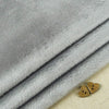 Shannon ~ Smooth Cuddle 3 Silver - Billow Fabrics  - 1
