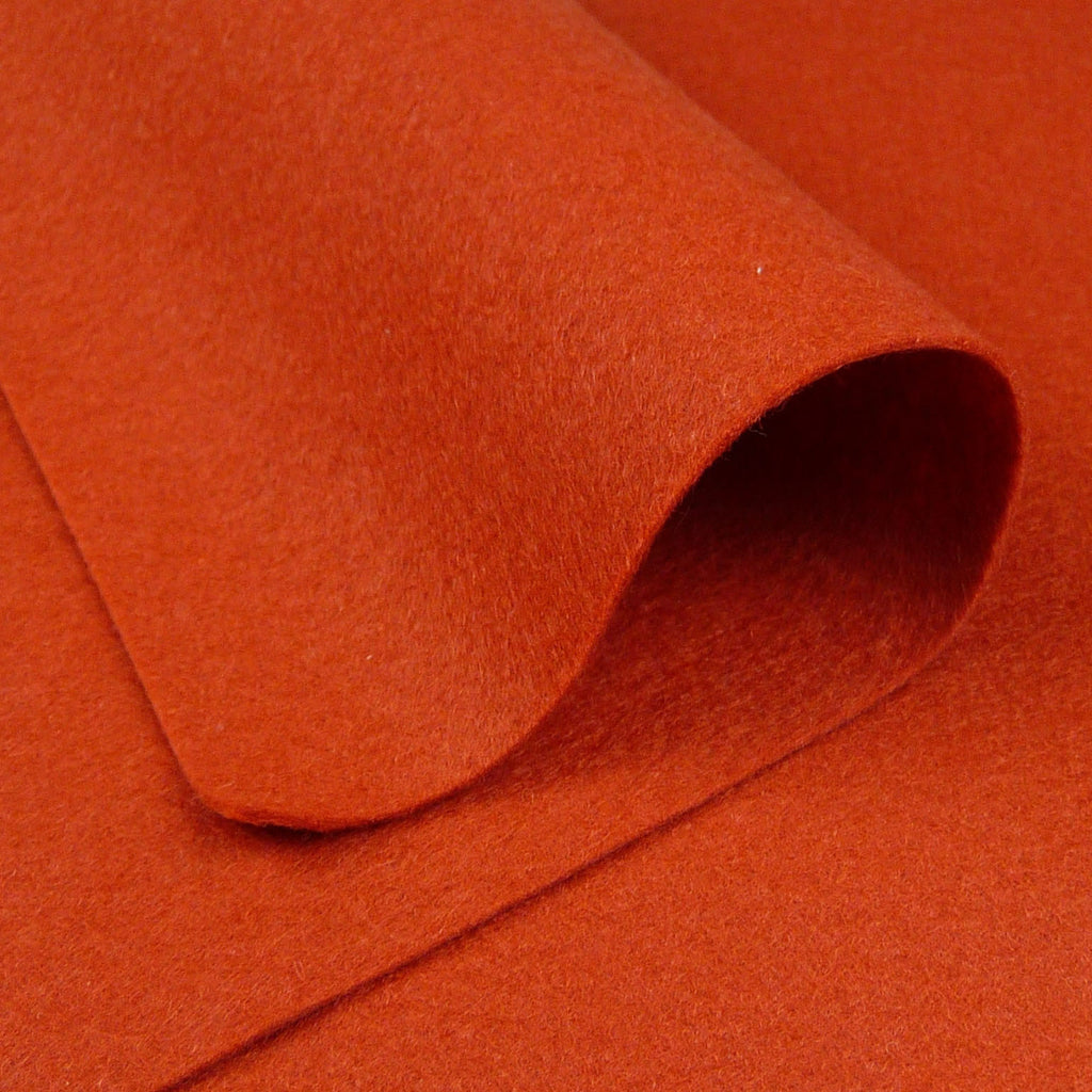 Woolfelt ~ Copper - Billow Fabrics