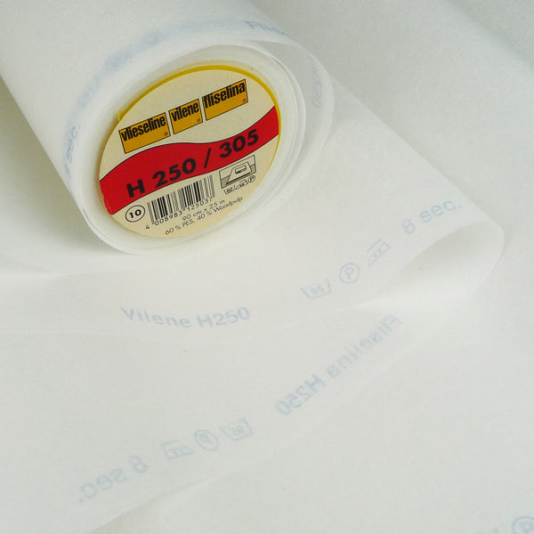 Vilene H250 Iron On Interfacing ~ Medium weight