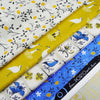Lemon Tree ~ Blue - Billow Fabrics  - 2