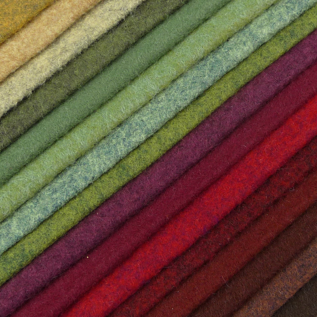 Hedgerow ~ Wool Felt Pack - Billow Fabrics  - 1