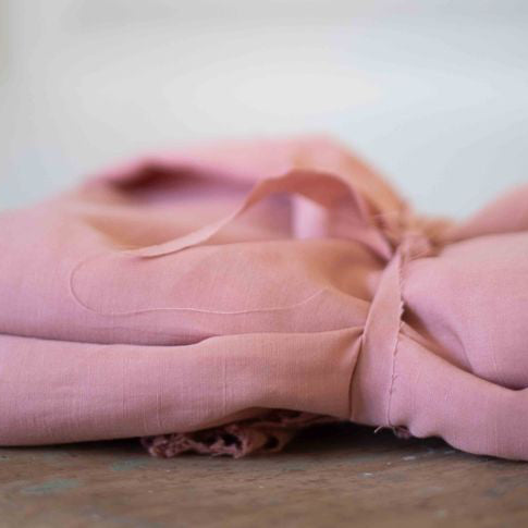 meetMILK Tencel™ Linen ~ Puff Pink