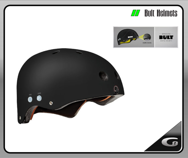 Bult Digital Helmet Black