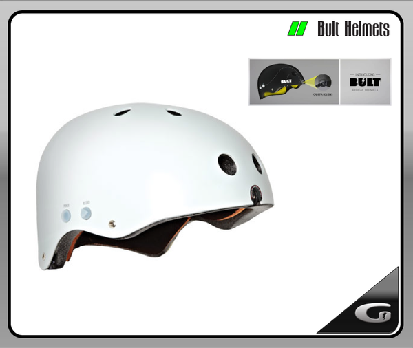 Bult Digital Helmet White