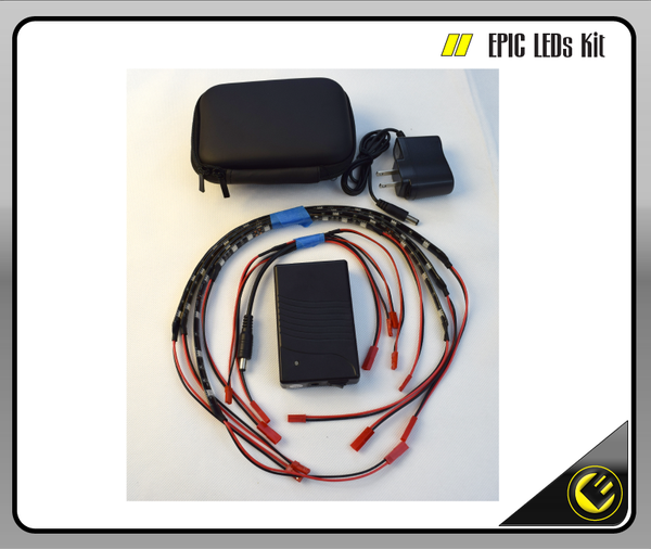 Epic 3 - LED Strip Lights Kit contents