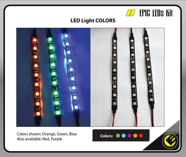 Epic 3 - LED lights