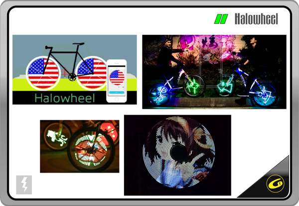 Halowheel Display W/ App patterns