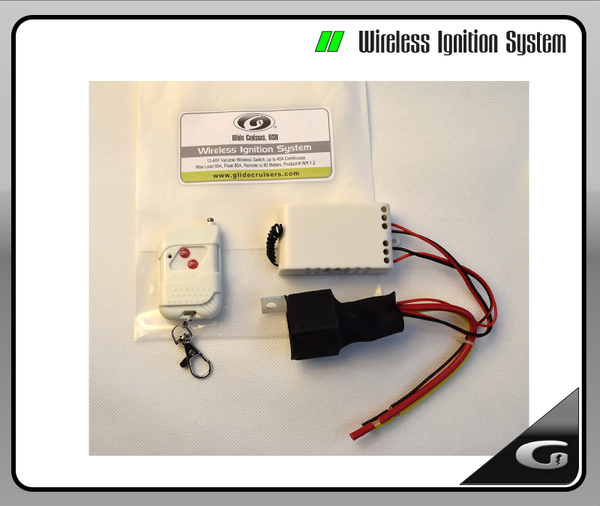 Wireless Ignition System - 24V-48V Variable Switch