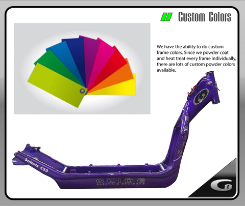 Glide Custom PowderCoat Color Program