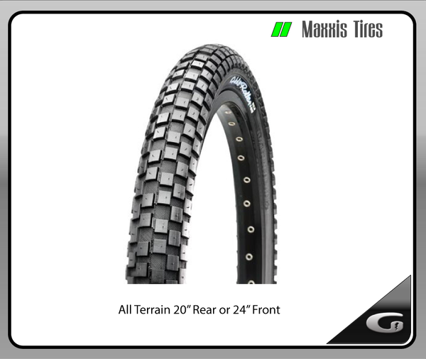 "Maxxis All Terrain Tire - 20"", 24"""