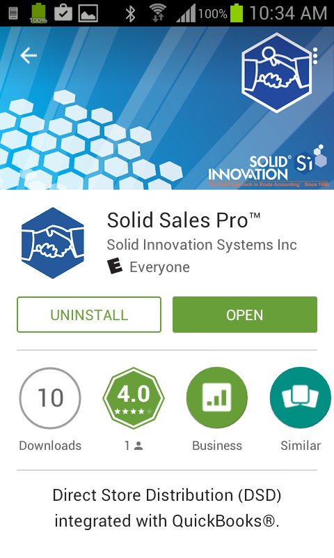 Solid Sales Pro Google Play Open
