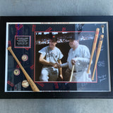 Ted Williams Autographed Photo with Babe Ruth