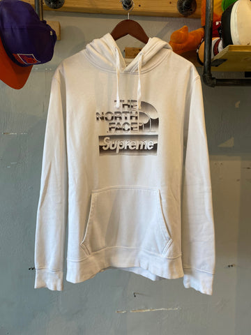 Supreme The North Face Metallic Logo Hoodie