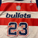 Reebok NBA Washington Bullets Jordan Jersey