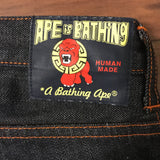 A Bathing Ape Human Made Selvedge Denim Jeans