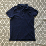Fendi Monster Logo Blue Polo Shirt