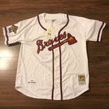 Mitchell & Ness MLB Atlanta Braves Stitch Jersey