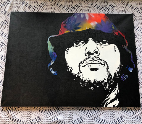 Schoolboy Q Painting