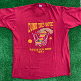Dunk The Vote 1993 Vintage Tee