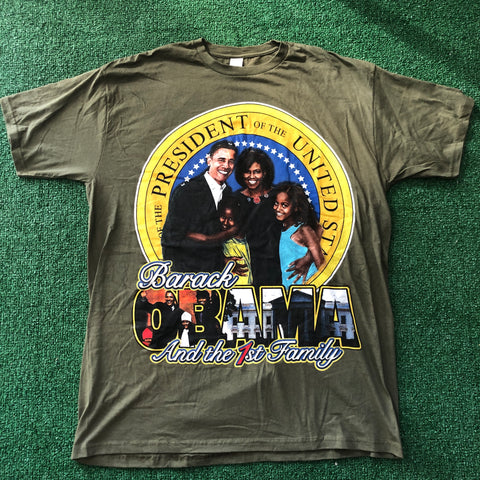 Obama And the First Family Vintage Tee
