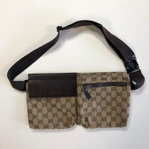 Gucci Monogram GG Supreme Waist Bag